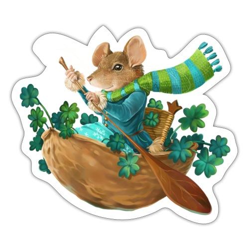 Glücksmaus - Sticker