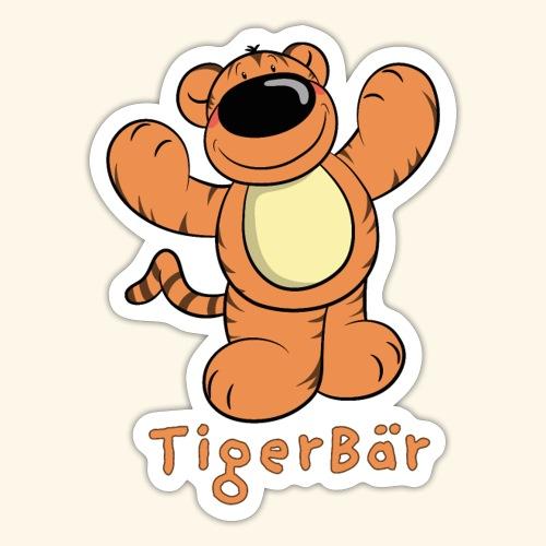 Tigerbär - Sticker