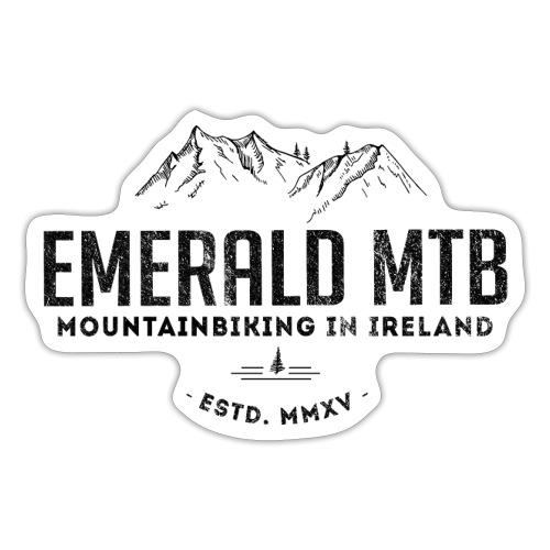 Emerald MTB Logo - Sticker