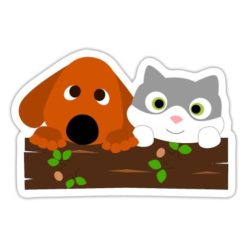 Hund & Katz - Sticker