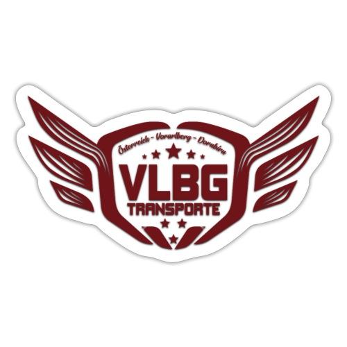 VLBG Logo Rot (nur Vorne) - Sticker