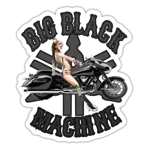 Big Black Machine - Sticker