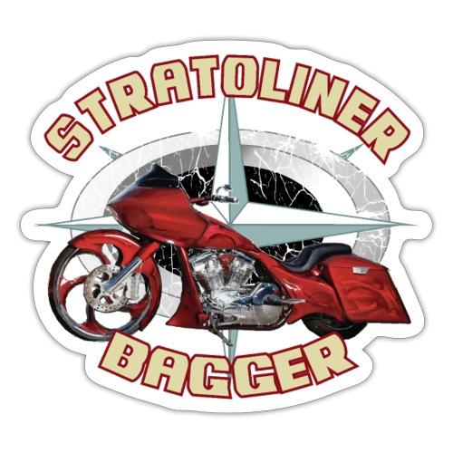 Stratoliner bagger 01 - Sticker