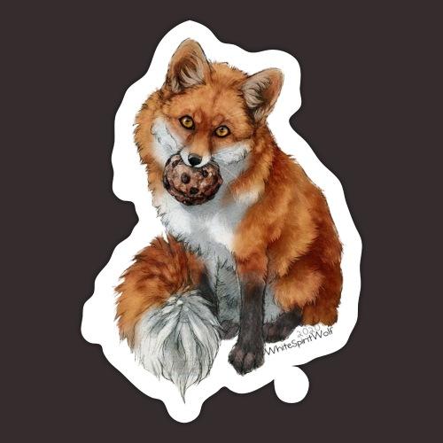 Cookie Fox - Sticker