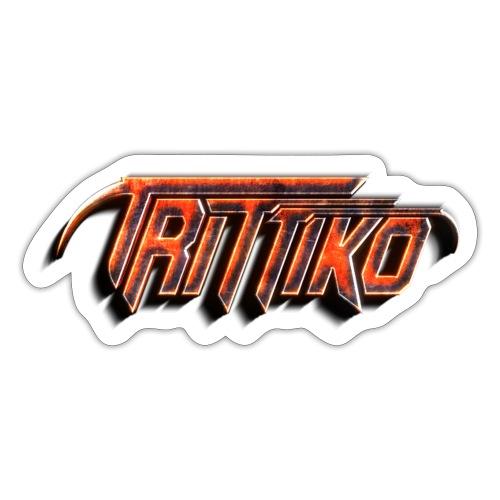 Trittiko Logo Rot 3D - Sticker