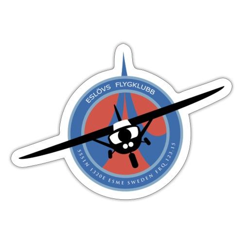 Eslövs Flygklubb - Klistermärke
