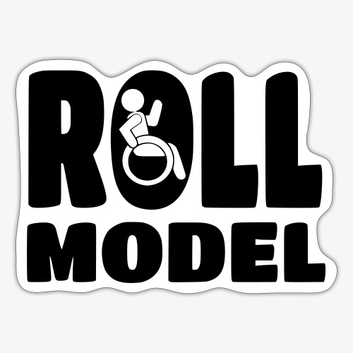 Rolstoel Roll model 016 - Sticker