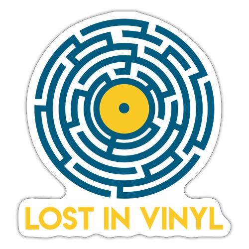 Lost in vinyl - Adesivo