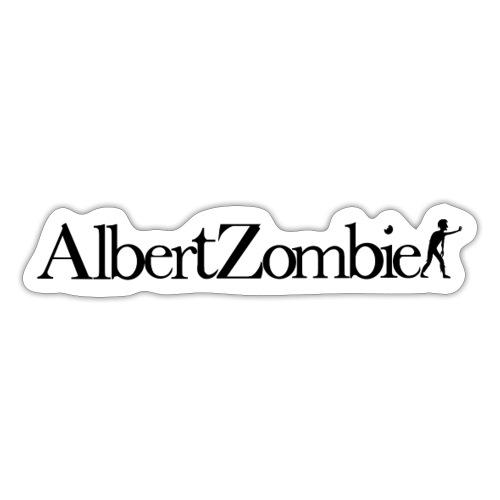 Albert Zombie - Autocollant