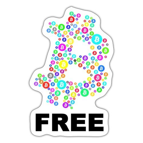 BTC free noit - Autocollant