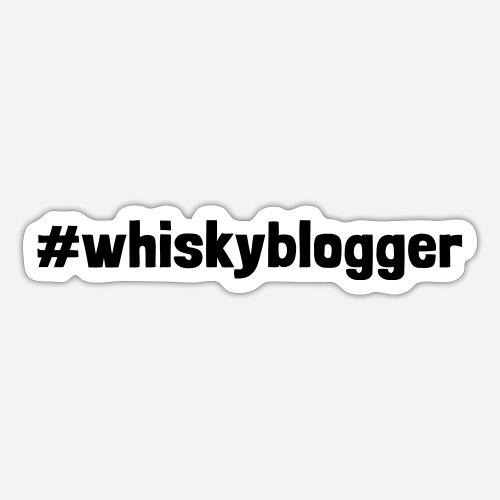#whiskyblogger | Whisky Blogger - Sticker