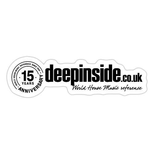 15 years anniversary logo black - Sticker