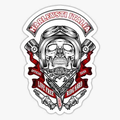 Harleysti Italia official 2020 - Adesivo