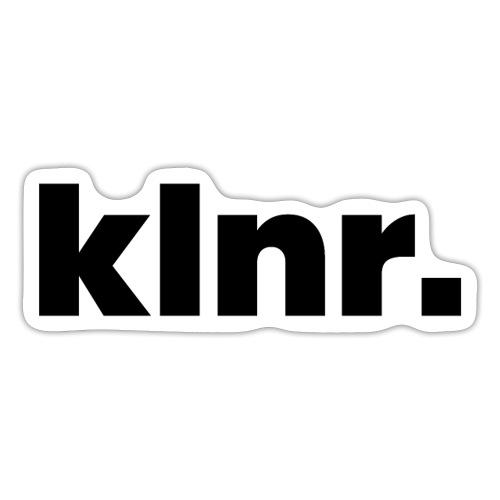 klnr. Design - Sticker