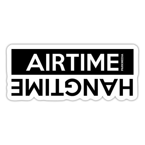 Temps d'antenne Hangtime - Autocollant