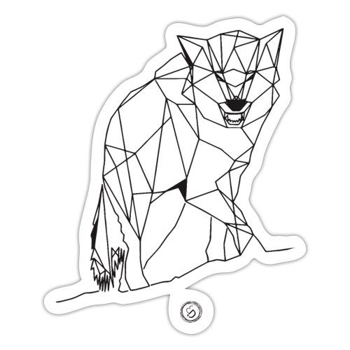 FENRIS - Geometrisk lineart - Sticker