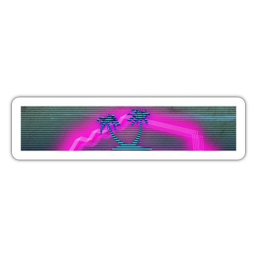 Dual Palm Trees - Sticker
