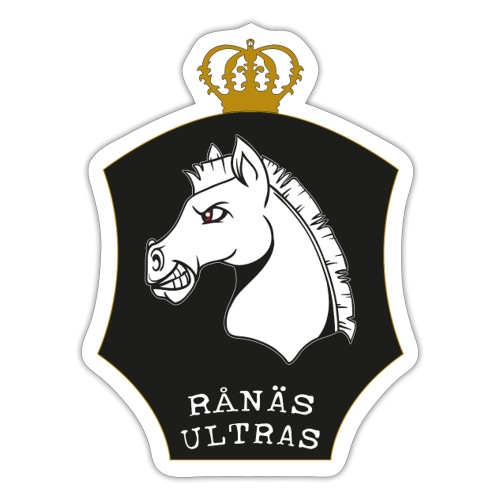 Ultras svart - Klistermärke