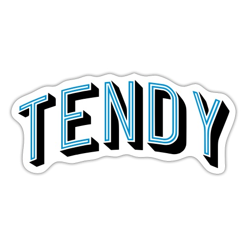 Hockey Goaltender - Tendy - Sticker