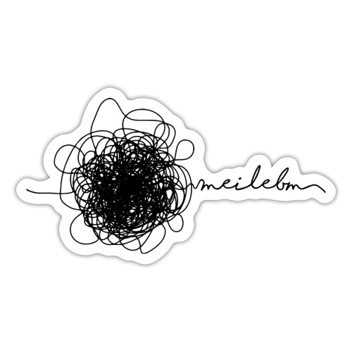 Vorschau: mei lebm - Sticker