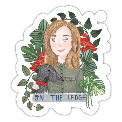 Jane and Wolfie - Sticker