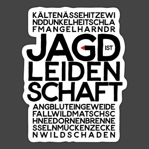 Jagdistleidenschaft - Sticker