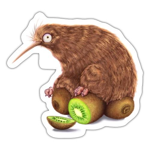Kiwi auf Kiwis - Sticker