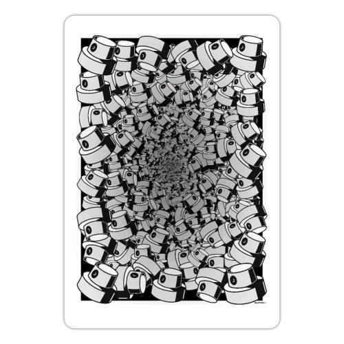 Fat Cap Infinity Flow - Sticker