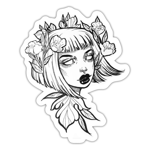 Dark Lady - Sticker
