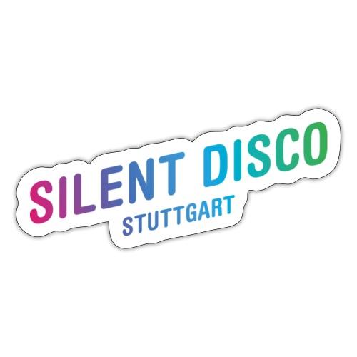 Silent Disco Stuttgart - Gradient - Sticker