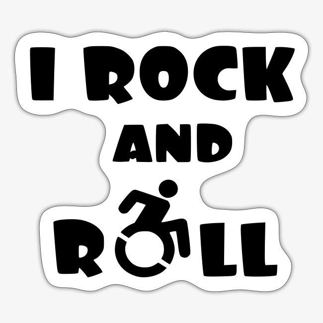 > Ik rock en rol met mijn rolstoel, muziek