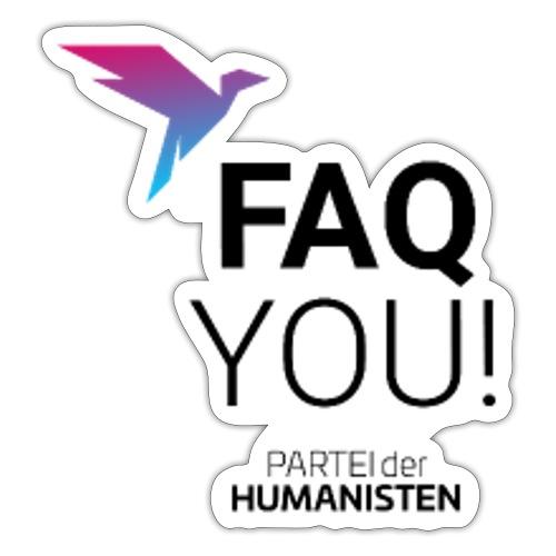 FAQ YOU! - Sticker
