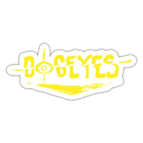 Dogeyes Logo - Sticker