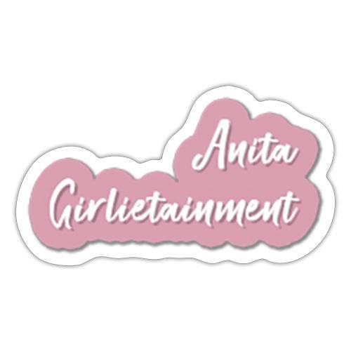 Schriftzug Anita Österreich - Sticker