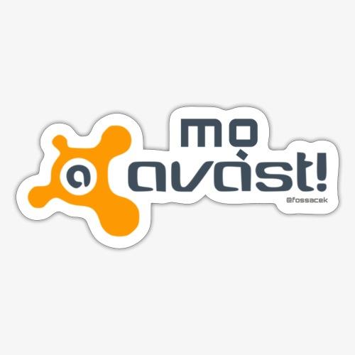 Avast! - Adesivo