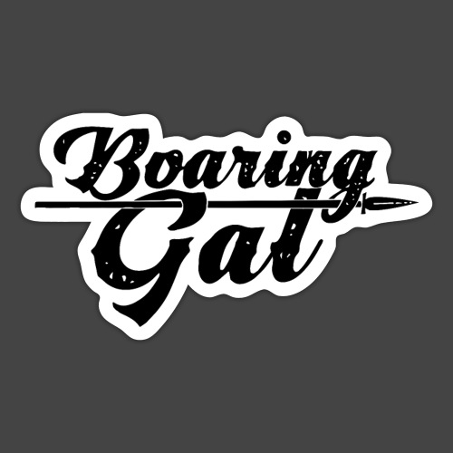 Boaring Gal - Sticker