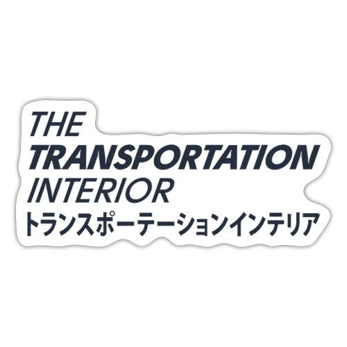 The Transportation Interior T Japan - Sticker