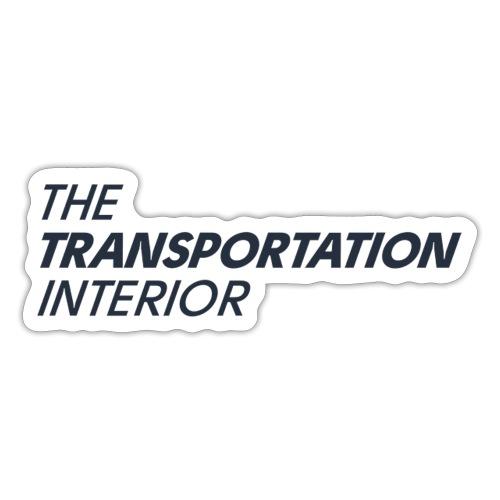 The Transportation Interior classic - Sticker