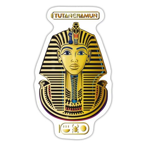 Tutanchamun I Goldmaske I Ägypten - Sticker