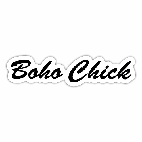 Boho Chick - Sticker