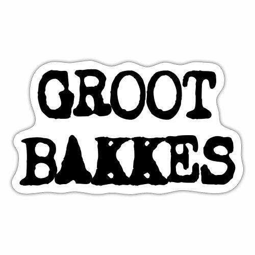Groot Bakkes - Sticker