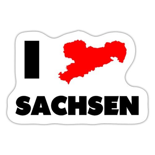 i love sachsen - Sticker