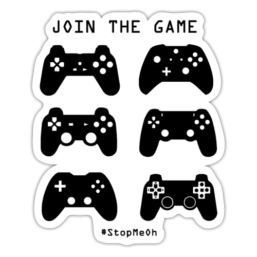Join The Game - Sticker