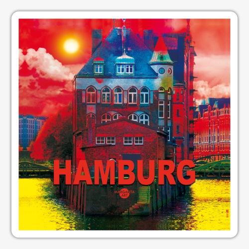 02 Faszination Hamburg Speicherstadt Kulturerbe - Sticker