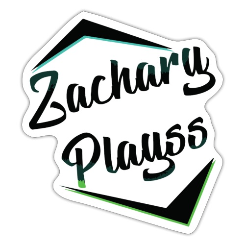 Logo ZacharyPlayss - Sticker