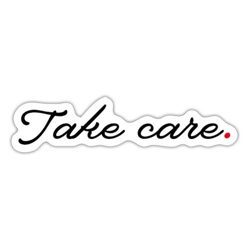 Mondmasker TakeCare - Sticker