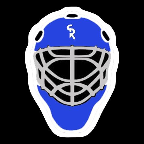 Goalie Mask srg3 - Sticker