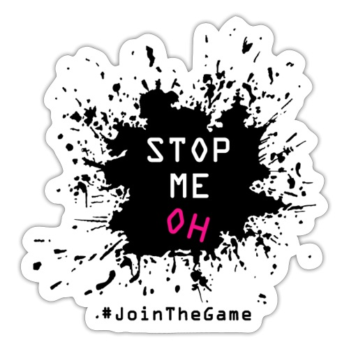 Stop me oh - Sticker