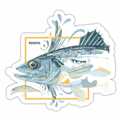 Bass 'n' Splash - Sticker