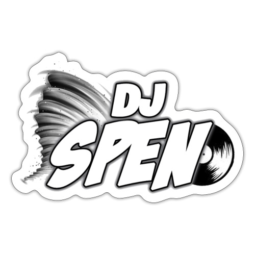 DJ Spen Long Logo - Sticker